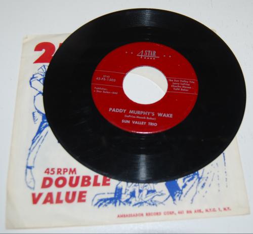 Vintage kids vinyl record xx