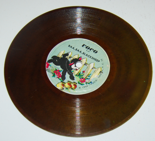 Vintage kids vinyl records