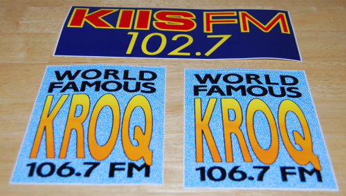 La radio stickers
