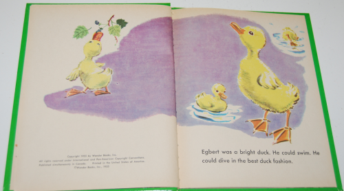 Little duck said quack wonder book 2