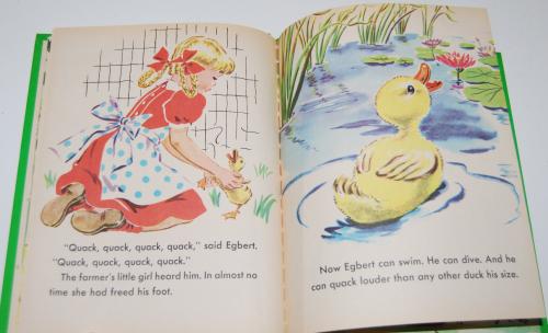 Little duck said quack wonder book 8