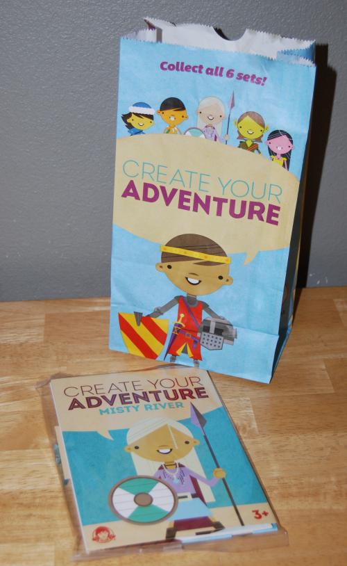 Wendy's create your adventure