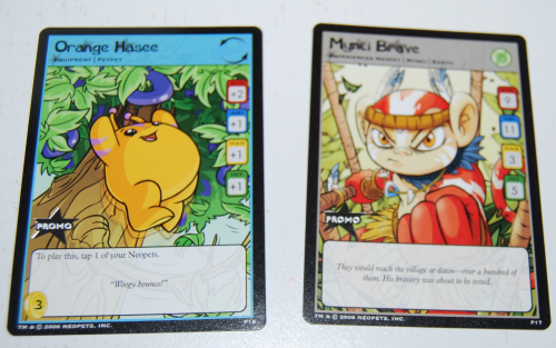 Neopets cards 2