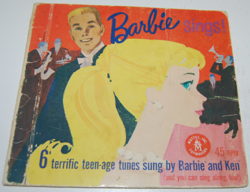 Barbie sings record