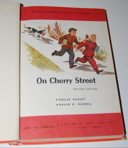Ginn reader on cherry street x