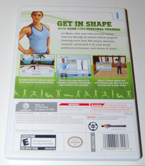 Wii my fitness coach x