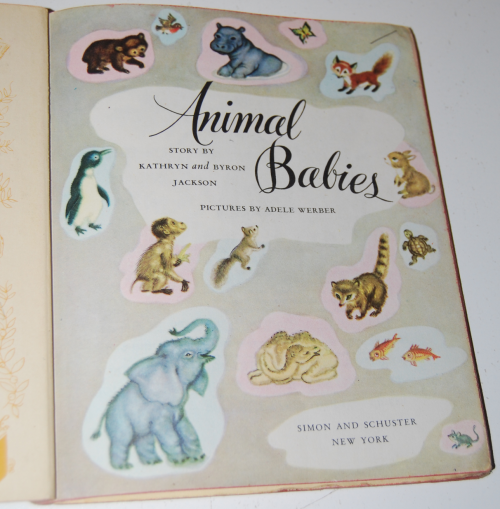 Animal babies little golden book 1