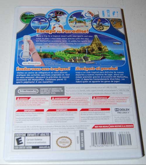 Wii sports resort x