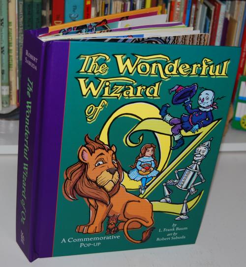 Wonderful wizard of oz popup book