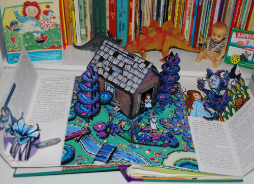 Wonderful wizard of oz popup book 3