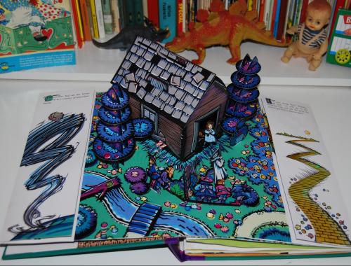 Wonderful wizard of oz popup book 4