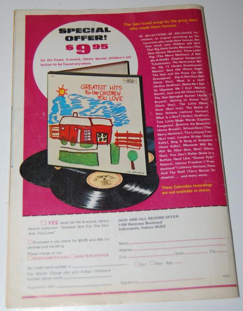 Jack & jill mag feb 1973 x