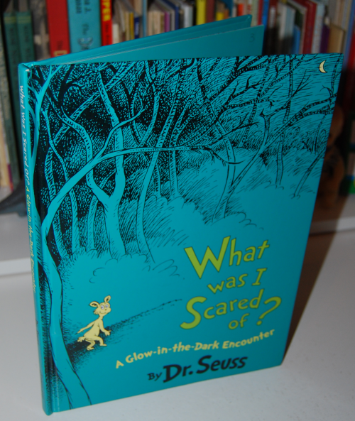 Dr seuss what was i scared of glow book