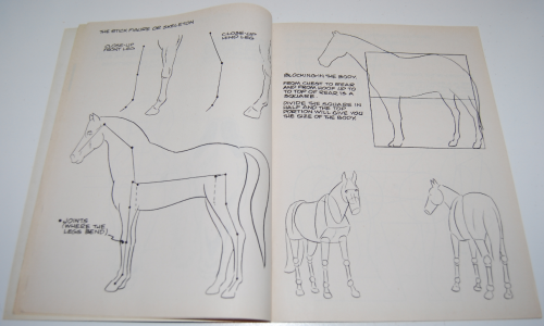 How to draw horses scholastic book 4