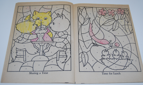 Whitman coloring book let's be friends 2