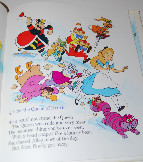 Disney's elegant abc book 8