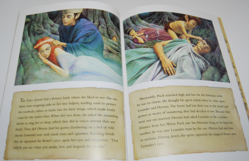 A midsummer night's dream kids book 4