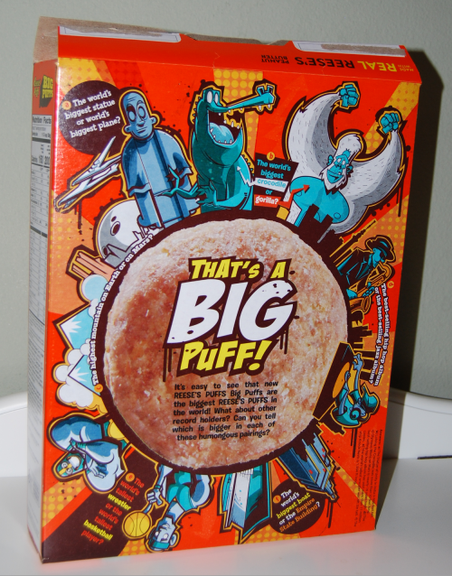 Reeses big puffs x