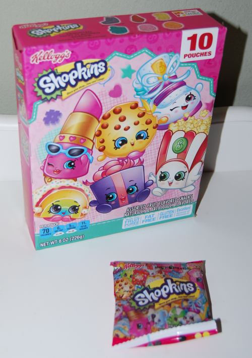 Shopkins fruit snacks