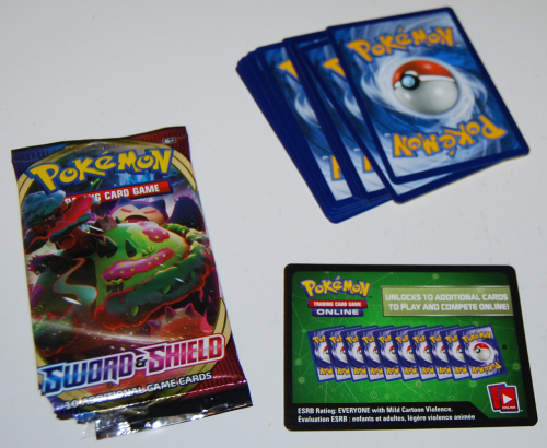 Pokemon sword & shield cards 1
