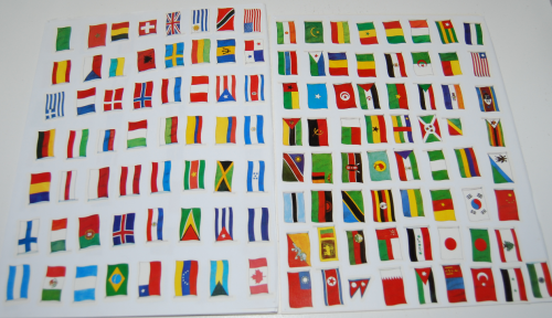 Ultimate flag sticker book 5