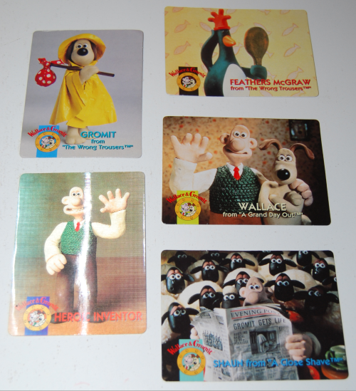 Wallace & grommit cards