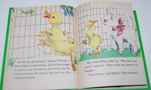Little duck said quack wonder book 6