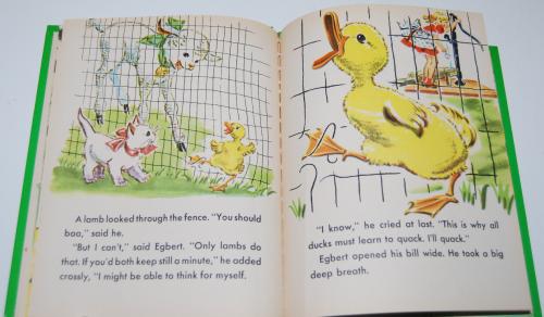 Little duck said quack wonder book 7