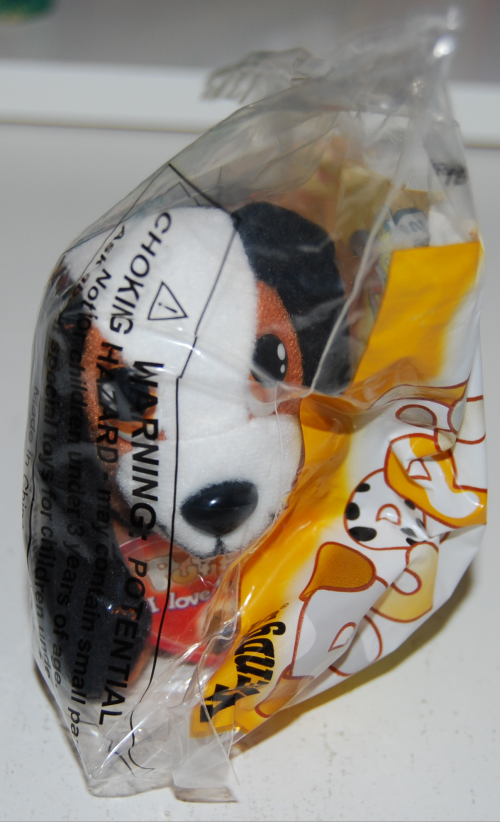 Wendy's kids meal puppies toy 1