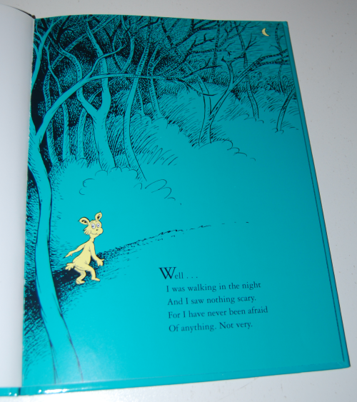 Dr seuss what was i scared of glow book 3