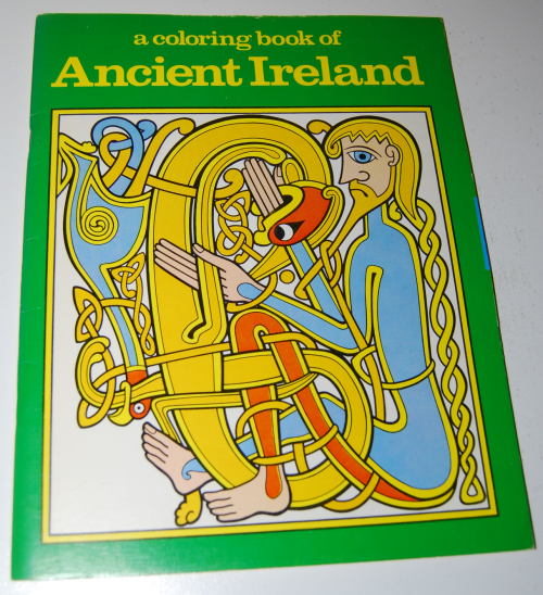 Ancient ireland coloring book