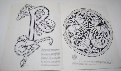 Ancient ireland coloring book 8