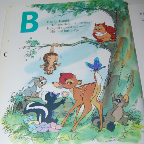 Disney's elegant abc book 4