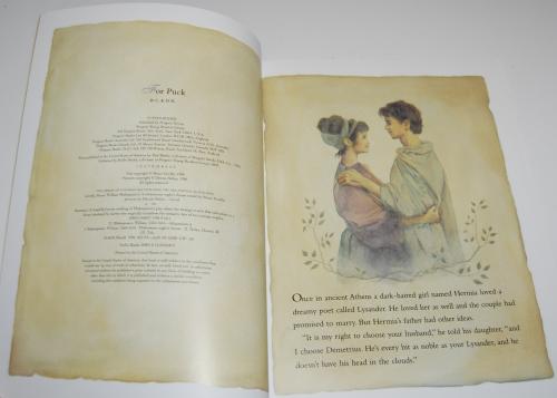 A midsummer night's dream kids book 2