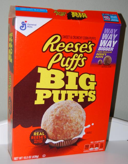 Reeses big puffs
