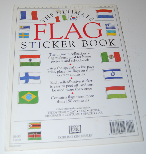 Ultimate flag sticker book x