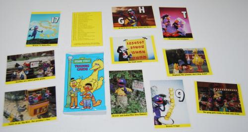 Sesame street cards