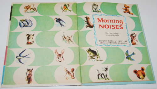 Morning noises wonder book 1