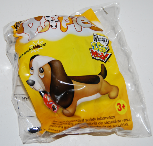 Wendy's kids meal puppies toy 2
