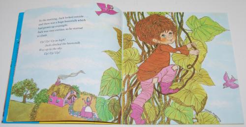 Jack & the beanstalk book & record 4