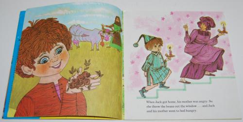 Jack & the beanstalk book & record 3