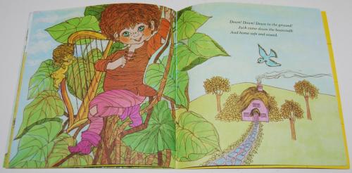 Jack & the beanstalk book & record 6