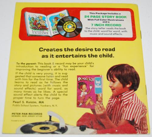 Jack & the beanstalk book & record x