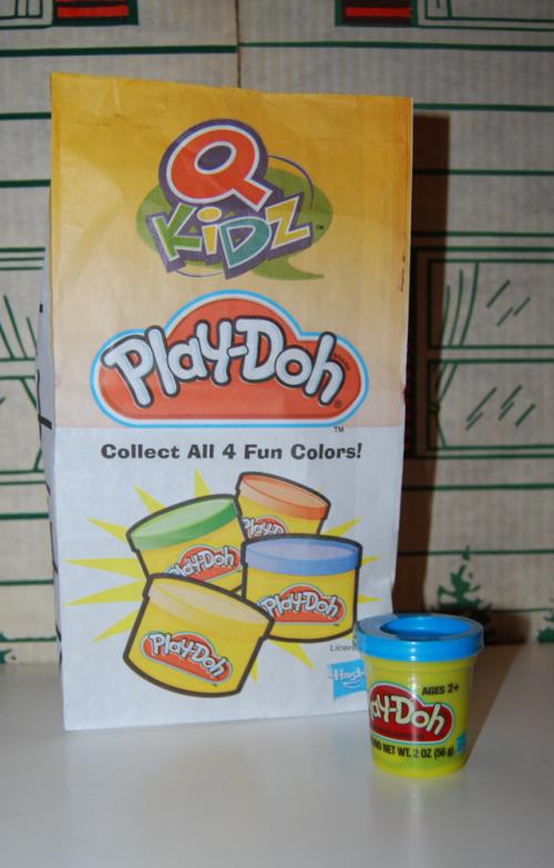 Quiznos playdoh