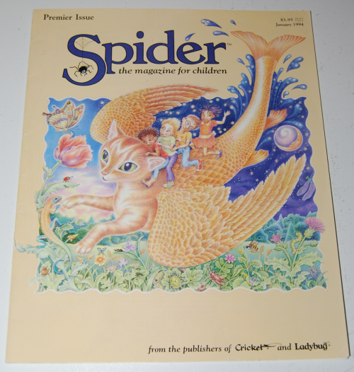 Spider children's magazine