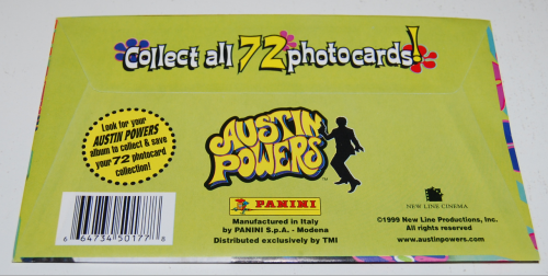 Austin powers photo cards x