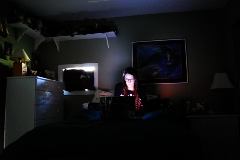 The darkest corner of the house