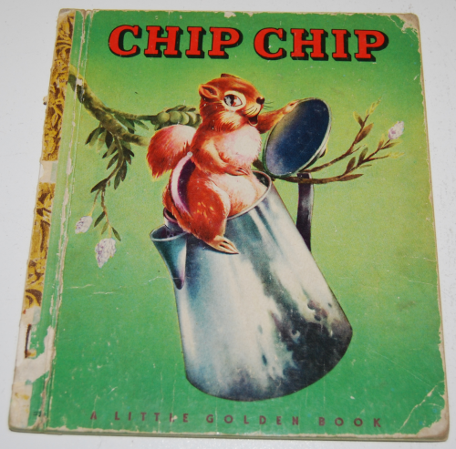 Chip chip little golden book