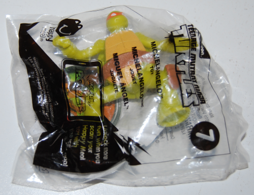 Tmnt happy meal toys 2