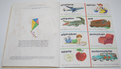 Little golden book picture dictionary 1